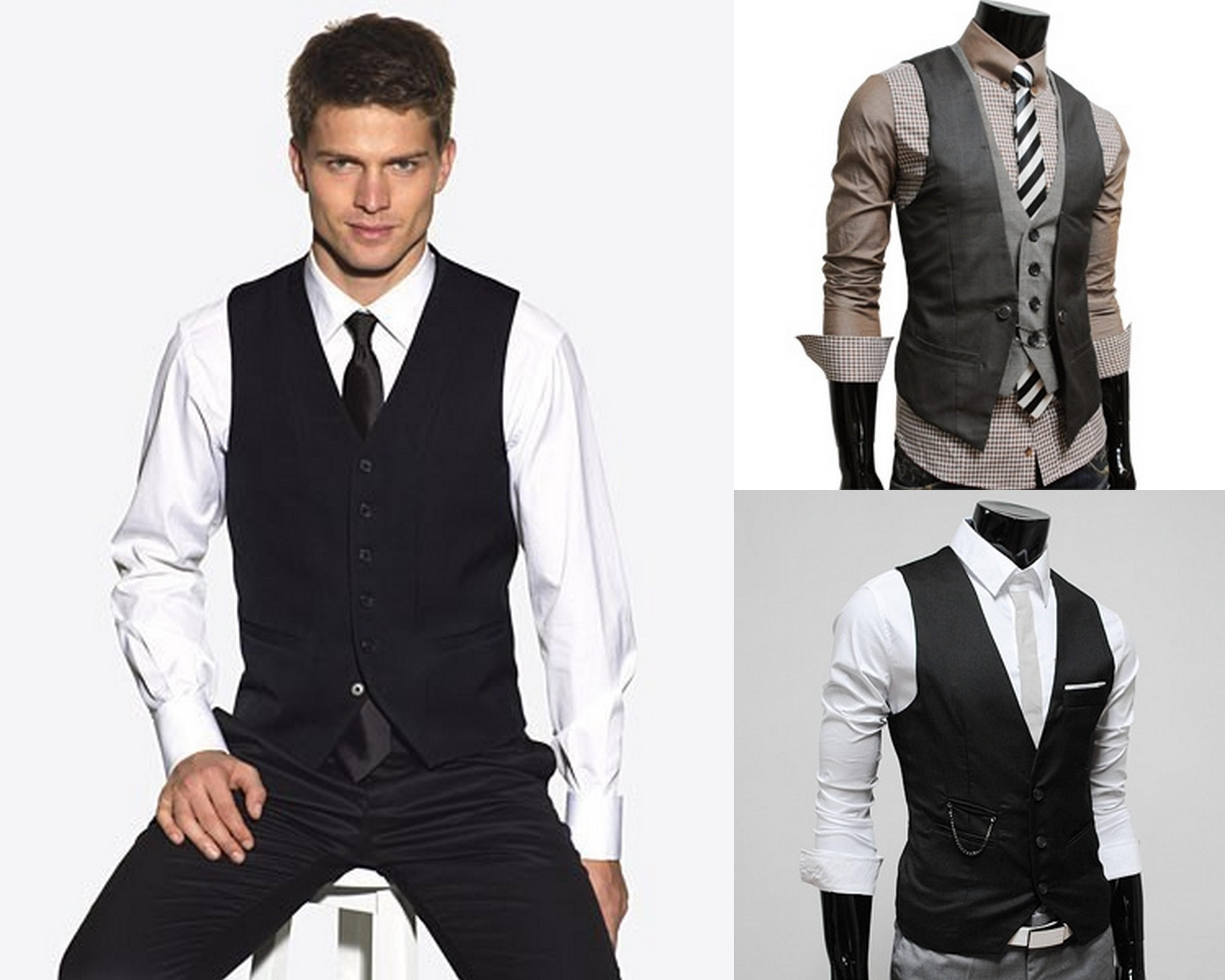 Casual Suit Vest - Go Suits
