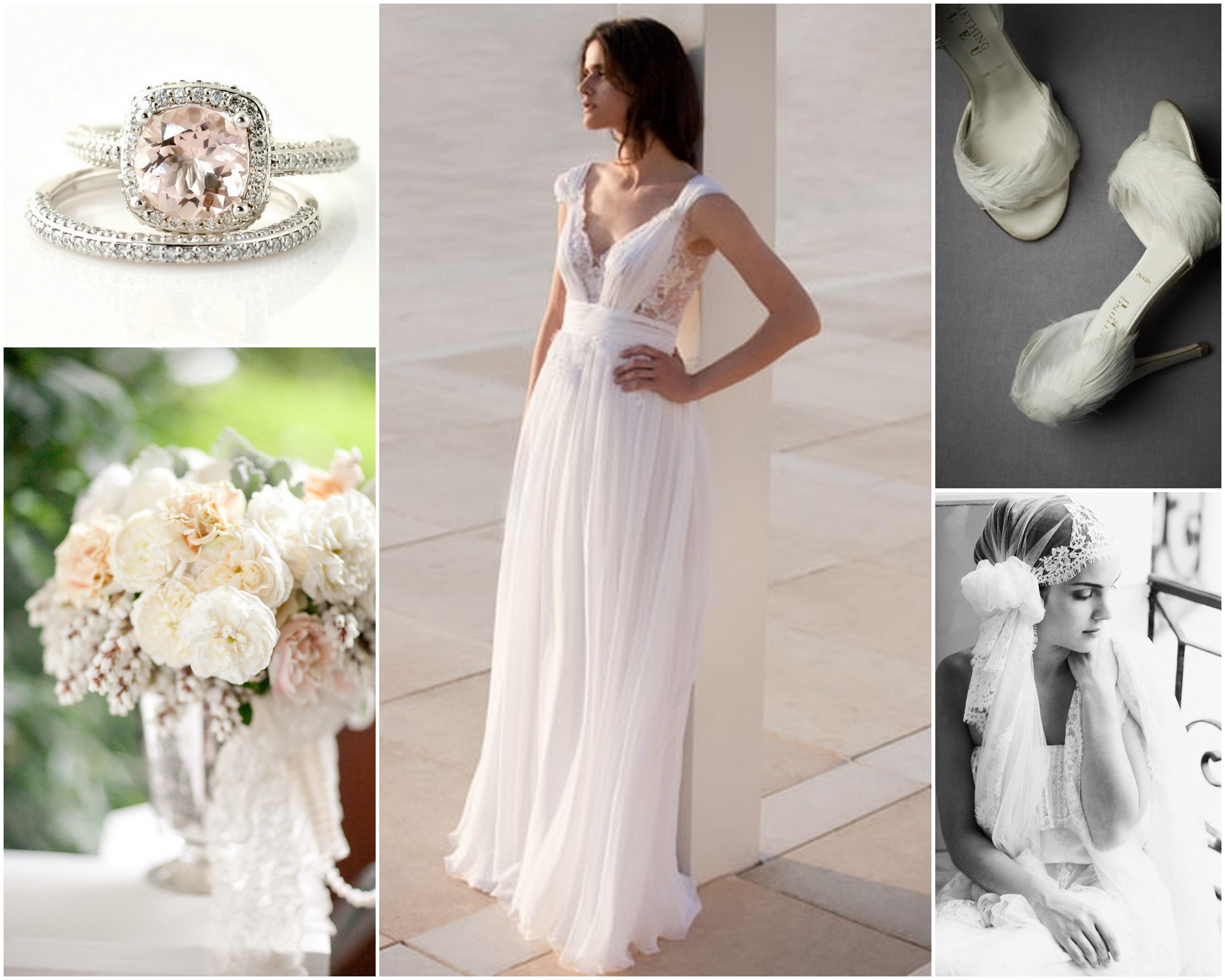 Romantic Flowy Wedding Dresses