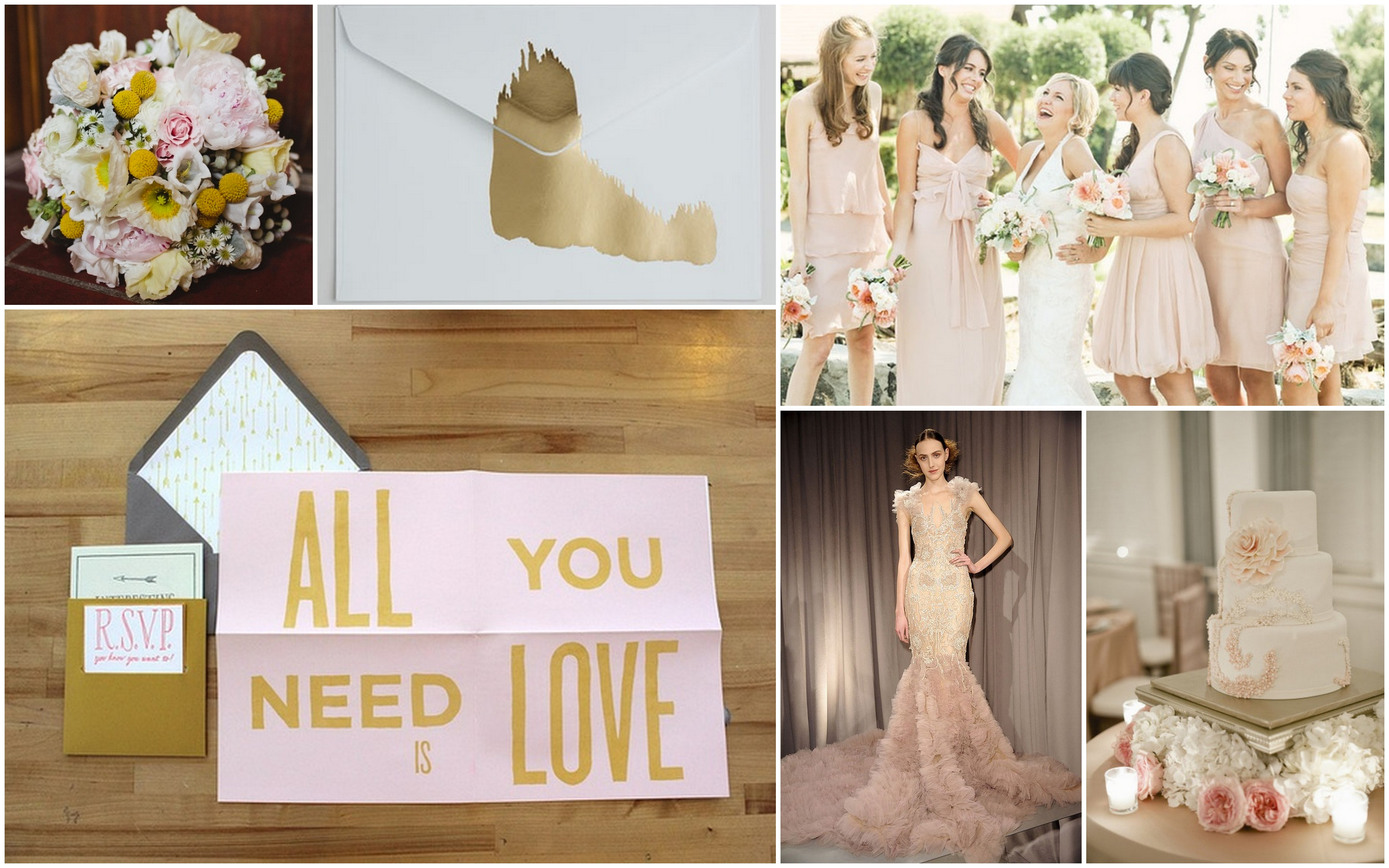 Gold blush grey wedding | beauandarrowevents