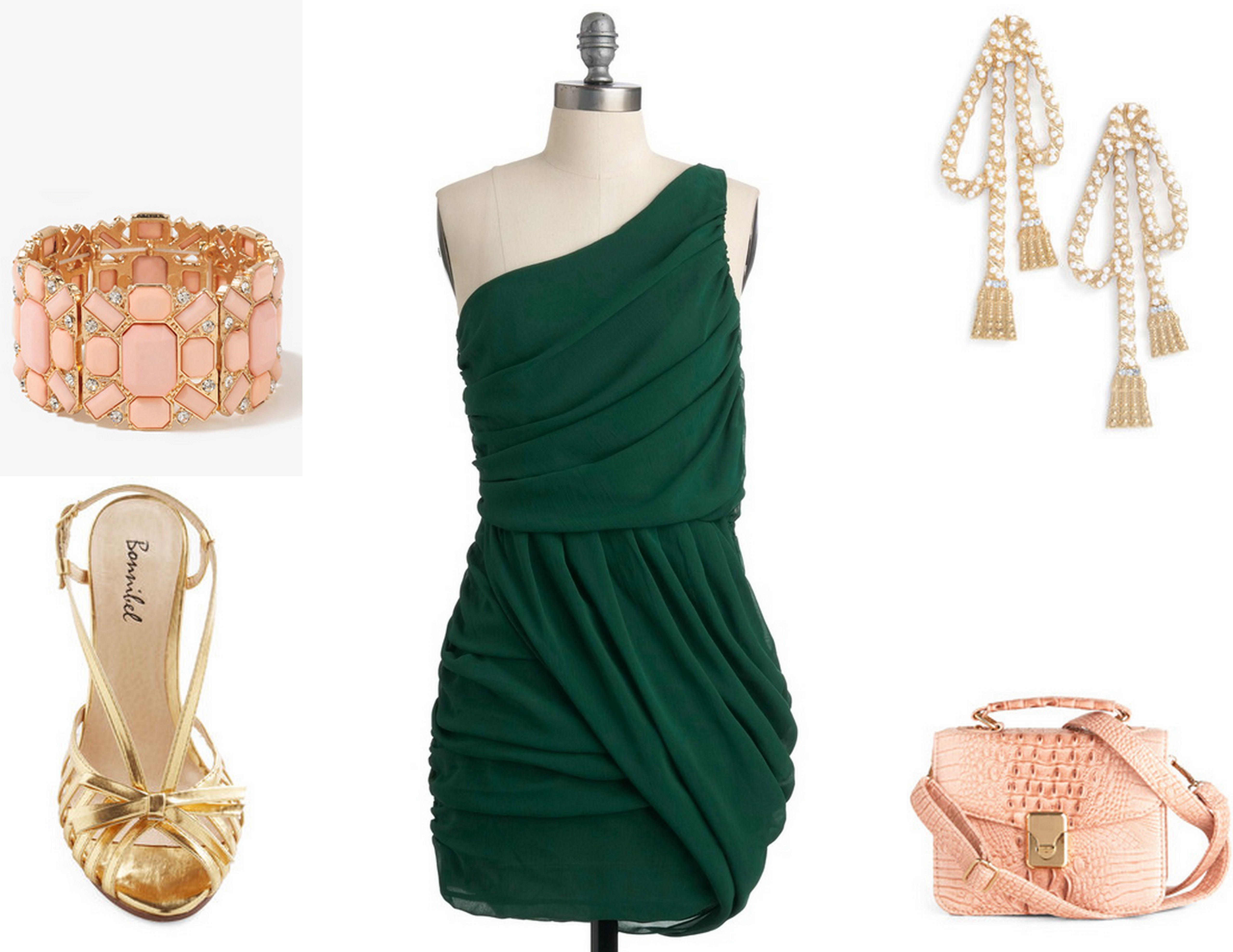 Dresses To Wear To A Fall Wedding 2012 Finds from Modcloth Evergreen