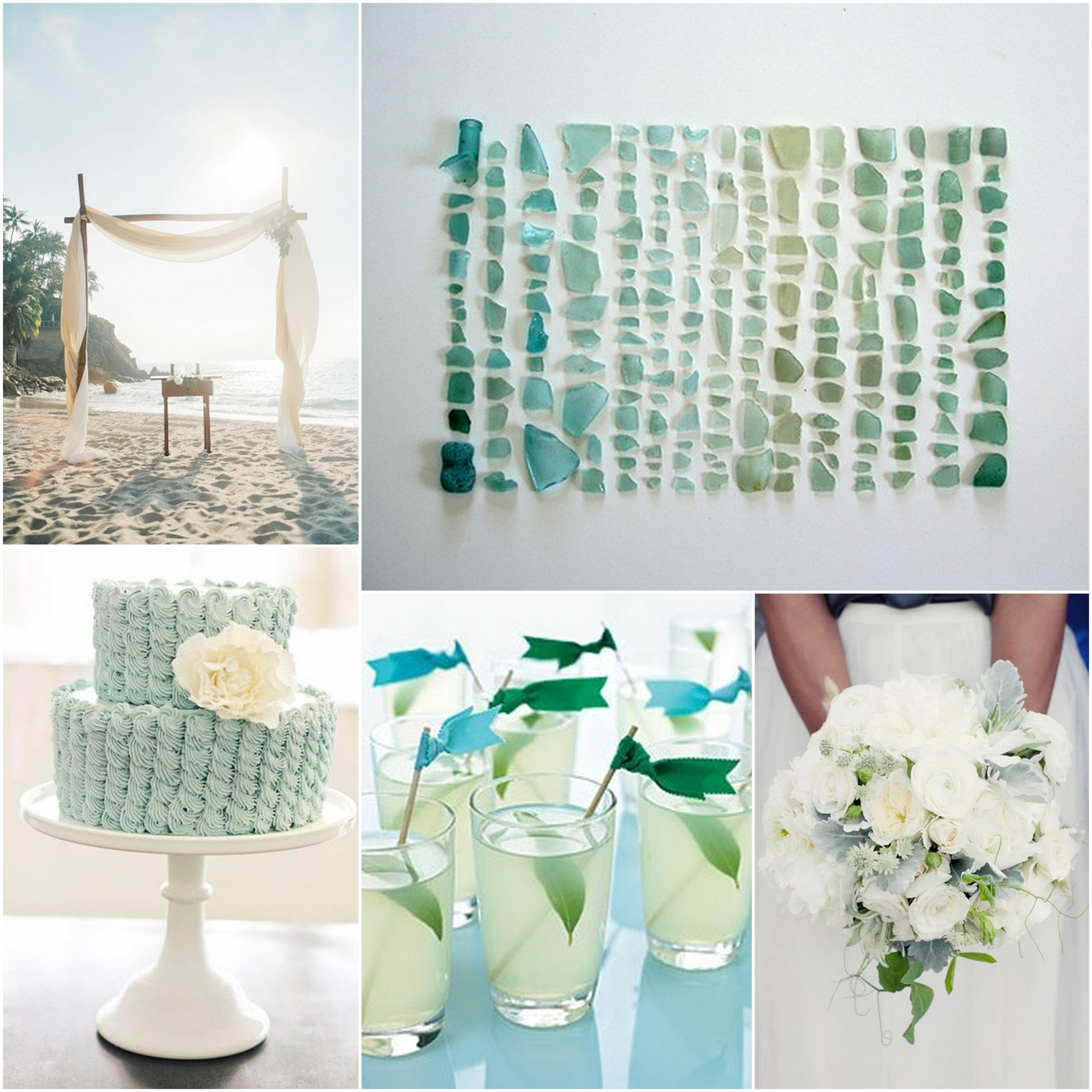 Beachy Wedding Decor | beauandarrowevents